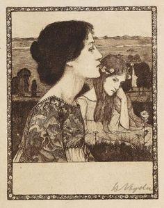 Heinrich Vogeler - Sommerabend