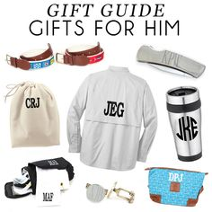 The Monogrammed Life: Gift Guide: Gifts For Him