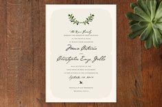 Italiano Wedding Invitations by Yolanda Mariak Che... | Minted