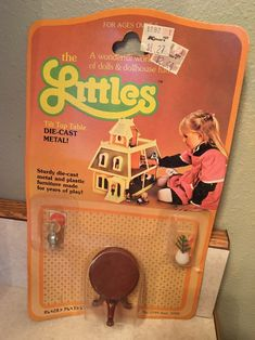 A personal favorite from my Etsy shop https://www.etsy.com/listing/508782381/the-littles-nip-die-cast-metal-tilt-top