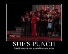 Idk about the punch being that epic.. But omg.. look at Darren xD lol
