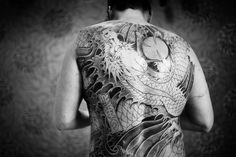 Japońskie tatuaże - smoki