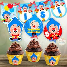 Happy Birthday Name, Birthday Themes For Boys, Circus Birthday, Birthday Decorations, Birthday Celebration, Birthday Parties, Pinata Cake, Chocolate Coins, Masha And The Bear