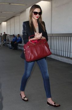 Ellery blazer, FRAME denim jeans, Miu Miu shoes and Viktor and Rolf handbag xxx