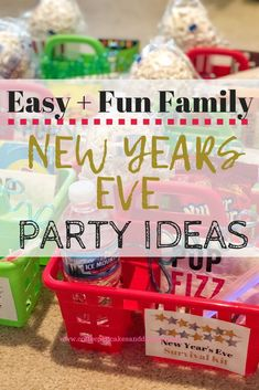 Creative and fun ways to celebrate New Year's Eve with kids New Year's Eve Activities, Christmas Activities For Kids, Family Activities, Family New Years Eve, New Year's Eve 2020, New Year's Eve Celebrations, Diy Party Decorations, New Years Eve Party, Winter Holidays
