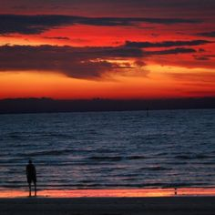 What a wonderful ruby sunset at St Kilda. Thank you Irene C. for sharing this to #CaptureTheCover #sunset #melbourne #seeeaustralia