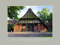 'Das Ammerländer Bauernhaus' von Dirk h. Wendt bei artflakes.com als Poster oder Kunstdruck $19.41