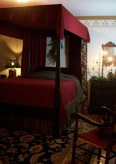 ~The Primitive Stitcher~ the ultimate Christmas Bedroom