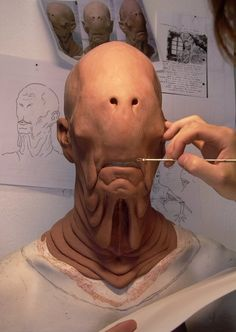 Monster Gallery: Pan's Labyrinth Creature Feature, Creature Design, Mask Makeup, Sfx Makeup, Prosthetic Makeup, Monster Mask, Special Makeup, Cool Monsters, Candy Art