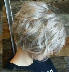 Trendy Gray Hair Style