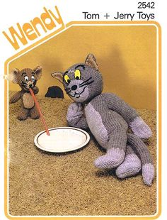 Tom and Jerry cartoon characters vintage by CollectableMrJones