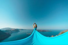 Artistic photoshoots & flying dress rental in Santorini, Greece. Magic pictures from the most romantic island of the world! Dress Rental, Greece Holiday, Romantic Getaways, Holiday Photos, Most Romantic, Female Portrait, Unique Dresses, Videography, Photo Studio