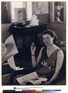 Portrait de Peggy Guggenheim (Rogi André)