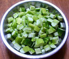 시어머님께 배운 한 입에 쏙쏙 오이 깍두기 무르지 않도록 맛있게 담그는 방법 Cucumber Kimchi, Korean Side Dishes, K Food, Just Cooking, Korean Food, Food Design, No Cook Meals, Food To Make, Food And Drink