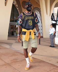 "LeBron James on Instagram: ""8•24 for ETERNITY! 🐍💜💛"" Lebron James Lakers, King Lebron James, King James, Thunder Nba, Oklahoma City Thunder, Warriors Stephen Curry, Magic Johnson, Larry Bird, Detroit Pistons"