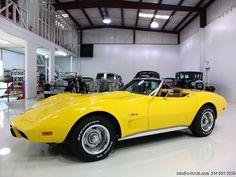 1975 CHEVROLET #CORVETTE CONVERTIBLE    Daniel Schmitt & Co.   www.schmitt.com  314.291.7000 #classiccars