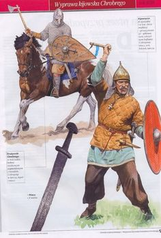 Kiev warriors in the time of Boleslaw's the Brave war expedition to Kiev