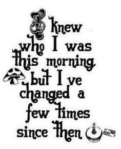 Alice & Wonderland quote