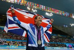 Team GB medals: Michael Jamieson took silver in the men's 200 metre breastroke