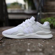 441be705460 Walking Running Sports Shoes Men Lace-up Sneakers