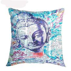 Cushion Cover Buddha Print