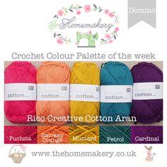 Nouveau 20 vergé Ancre Crochet Coton Fil Boules 20 Couleurs Différentes