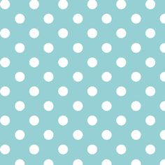 Aqua Dot to Dot, Children at Play, Sarah Jane, Michael Miller, Polka Blue White
