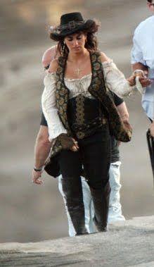 Pirates of the Caribbean 4 Penelope Cruz Make it modest! :-)
