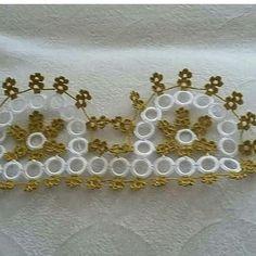 Zig Zag Crochet, Filet Crochet, Baby Knitting Patterns, Beautiful Crochet, Tatting, Elsa, Diy And Crafts, Gold, Jewelry