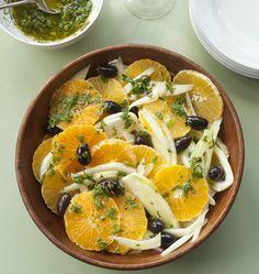 Orange Salad or Insalata di Arance. #Orange, #Fennel, and roasted #olives. This could be interesting. -- www.DoMoreThisSummer.com --