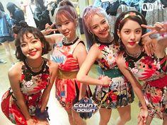 170810 MCOUNTDOWN update SNSD Sooyoung & Sunny & Hyoyeon & Seohyun