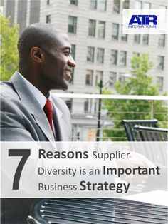 You will learn a number of crucial business factors supporting a Supplier Diversity program.