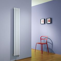 Revive Elektrische Design Radiator met thermostaat 1600mm x 236mm - 652 Watt - Wit - Image 1