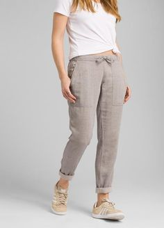 MOLO ALONI WOVEN PANTS STONE WASHED BLACK