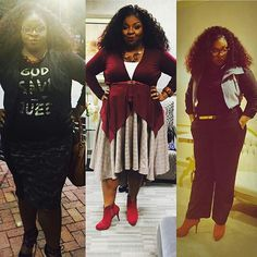 "The many fashion style of Cora Jakes Coleman. Make sure to get her new book which I order already on Amazon called"" Faithing it""."