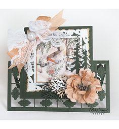 Marianne Design Stanz und Prägeschablone Craftable Weihnachtskugeln