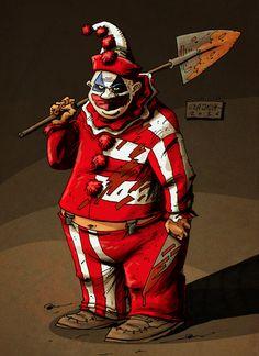 Czajnik's Workshop: real life killer clown
