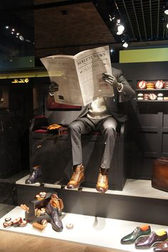 "Berluti,Paris, France,""The Shoe Shine Guys: committed to helping you look your best!"", pinned by Ton van der Veer"