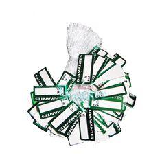 "#EtiquetasColgantes  para joyeria "" Diamantes"" Estampado verde"