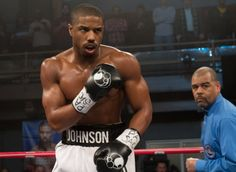 """In the new boxing film """"Creed,"""" actor Michael B. Jordan manages to look even more ripped than..."""