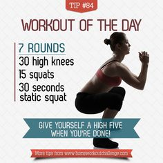 Tip 84: Best leg workouts are simple - Home Workout Challenge