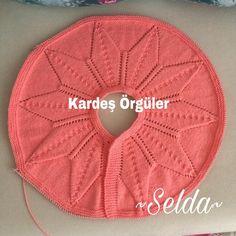 Bebek_örgüleri (K uler) Baby Knitting Patterns, Crochet Patterns For Beginners, Pull Bebe, Diy Collier, Diy Crafts Crochet, Crochet Baby Cardigan, Diy Crystals, Crochet Videos, Easy Knitting
