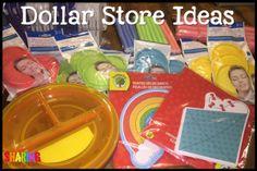 Dollar Store Ideas for Your Kindergarten Classroom!