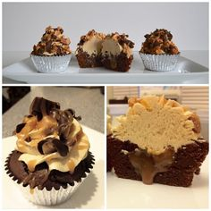 Snickers Cupcake!