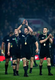 Ben Smith in New Zealand v Australia - Final: Rugby World Cup 2015