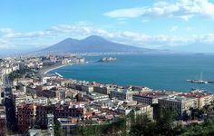 Napoli - Panorama e Vesuvio