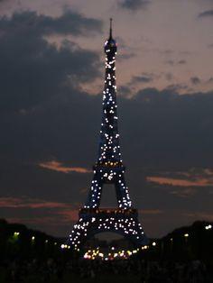 la tour eiffel, paris, france, 2008