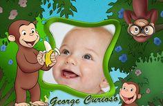 Seguimos sumando variedad de fotomontajes infantiles, y en este post compartimos un divertido fotomontaje junto al monito Jorge el Curioso. La fotografía que elijas quedará centrada, tal como te mo…
