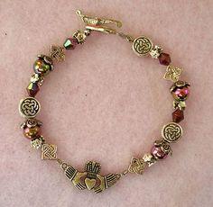 Silver Celtic Claddagh Bracelet Claddagh Symbol, Cgi, Celtic, Scotland, Ireland, Jewelry Bracelets, Fashion Accessories, Handmade Jewelry, Charmed