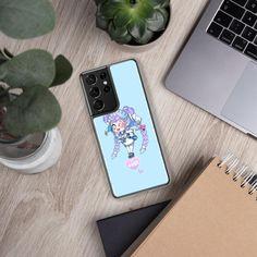 Emma Heart Chibi Samsung Case - Samsung Galaxy S21 Ultra